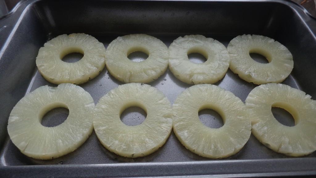 Gâteau renversé à l'ananas sans cuisson4