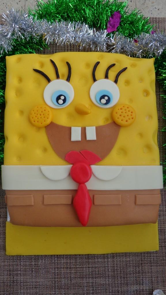 Gâteau d'anniversaire Sponge Bob11