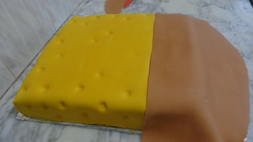 Gâteau d'anniversaire Sponge Bob6