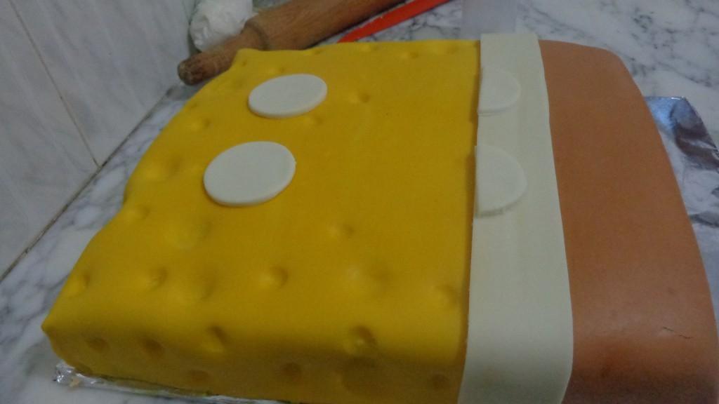 Gâteau d'anniversaire Sponge Bob7