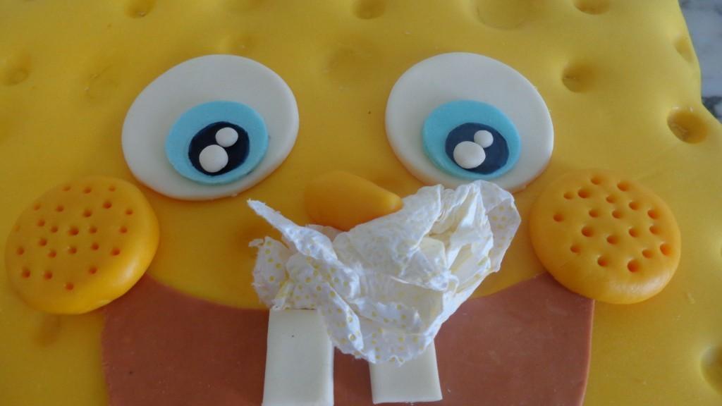 Gâteau d'anniversaire Sponge Bob9