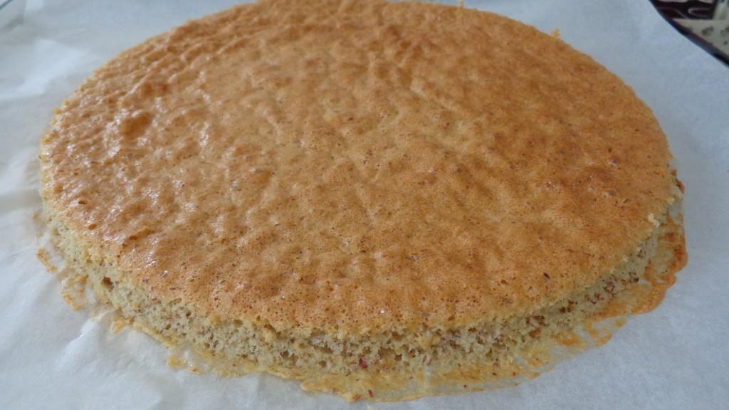 Gâteau noisette chocolat au ferréro rocher2