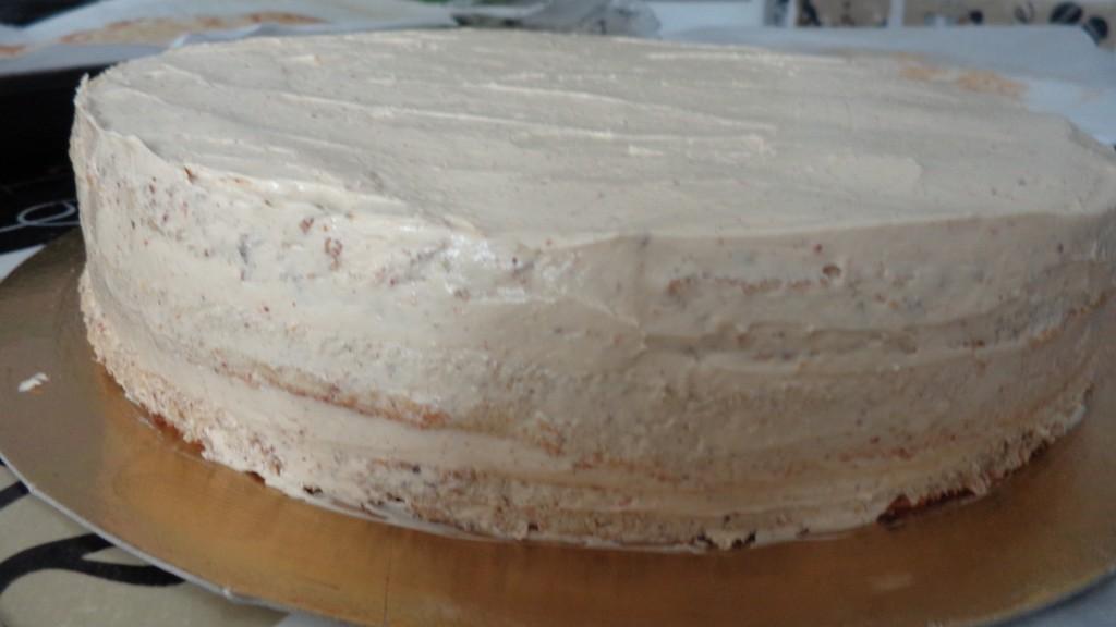 Gâteau noisette chocolat au ferréro rocher8