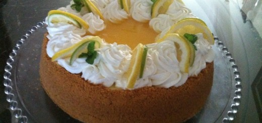 Cheesecake double citron