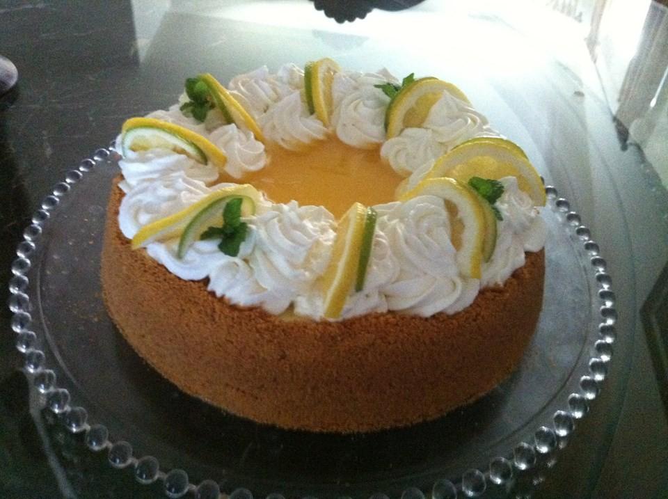 Cheesecake double citron