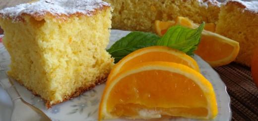 Gâteau orange & huile d'olive1