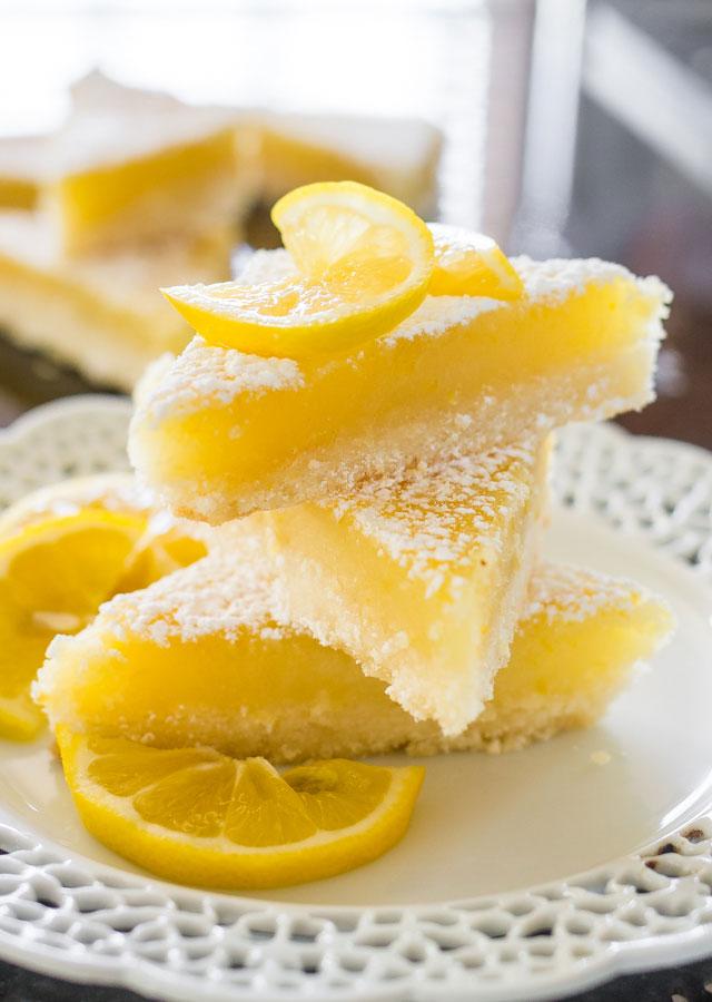 Carrés au citron1