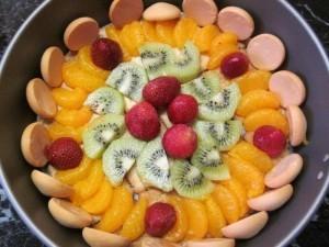Charlotte aux petits beurre fruits et mascarponne3