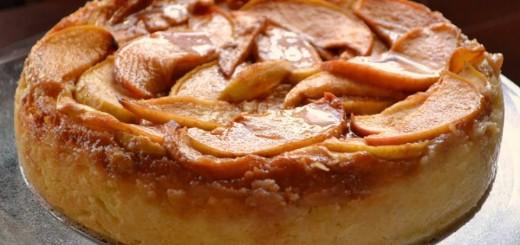 Cheesecake à la pomme1