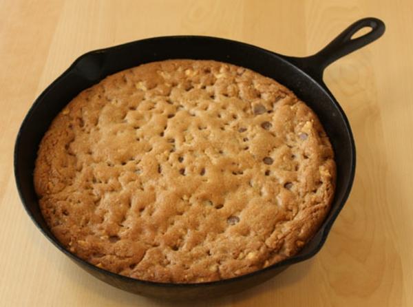 Cookie géant aux pépites de chocolat1