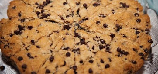 Cookie géant aux pépites de chocolat2