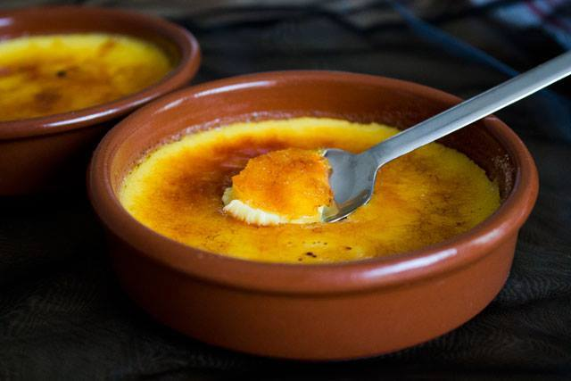 Crème brûlée1