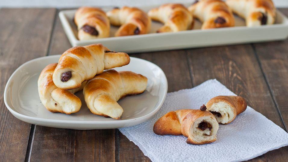Croissants Briochés fourrés au Nutella1