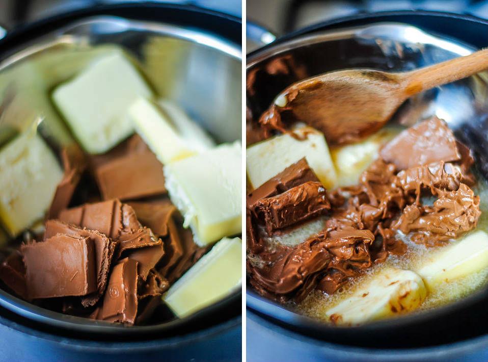 Fondant chocolat noisette2