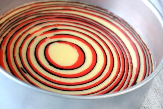 Gateau zebre rose recette