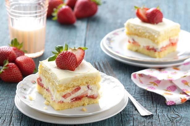 Gâteau Tiramisu aux fraises1