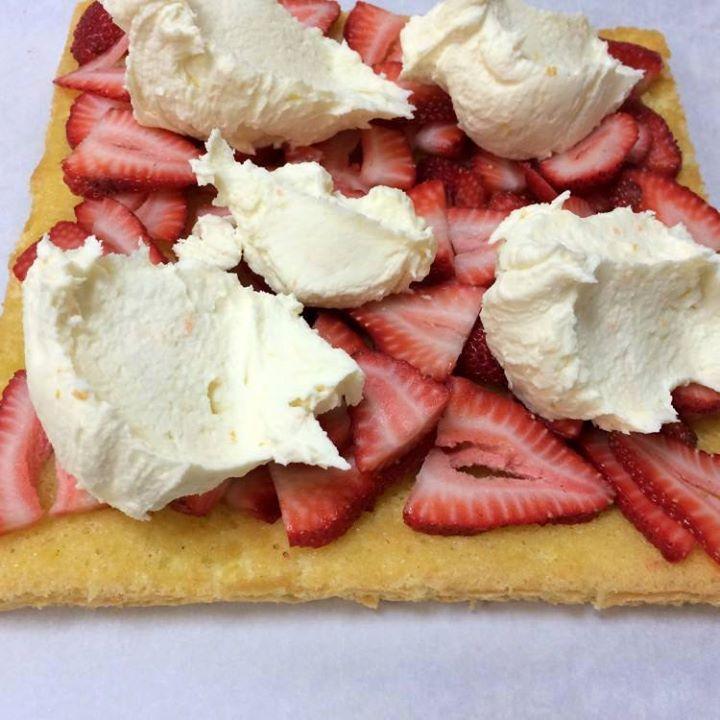 Gâteau Tiramisu aux fraises3