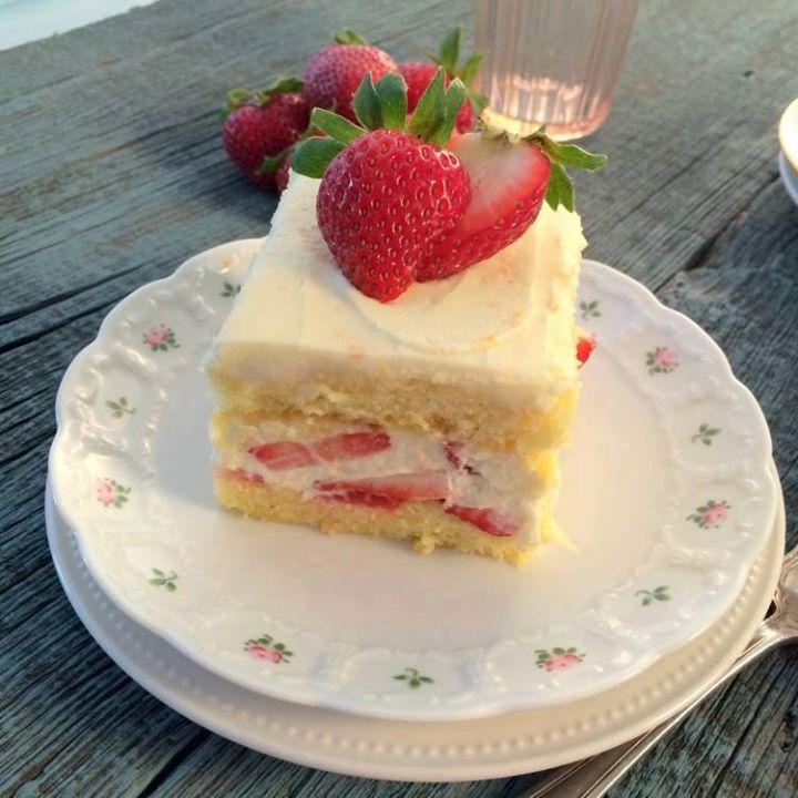 Gâteau Tiramisu aux fraises4