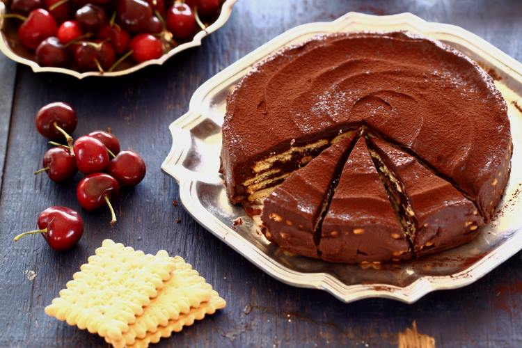 Gâteau au Petit Beurre et au chocolat1