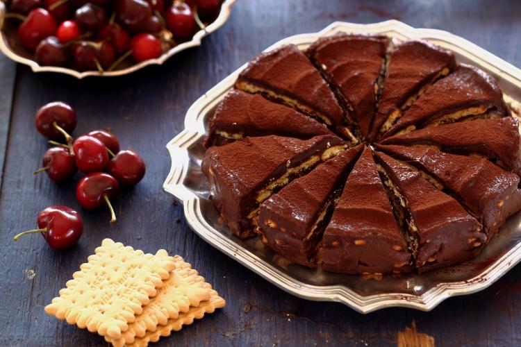 Gâteau au Petit Beurre et au chocolat5