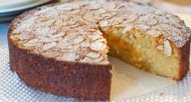 Gâteau au amandes et noix de coco