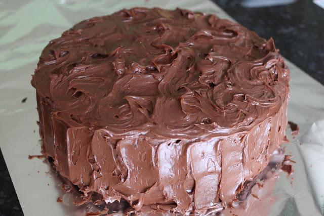 Gâteau au chocolat du bon vieux temps1