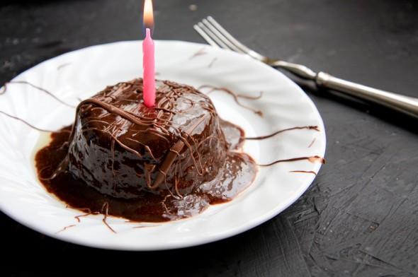 Gâteau au chocolat et Nutella en 3 mn4