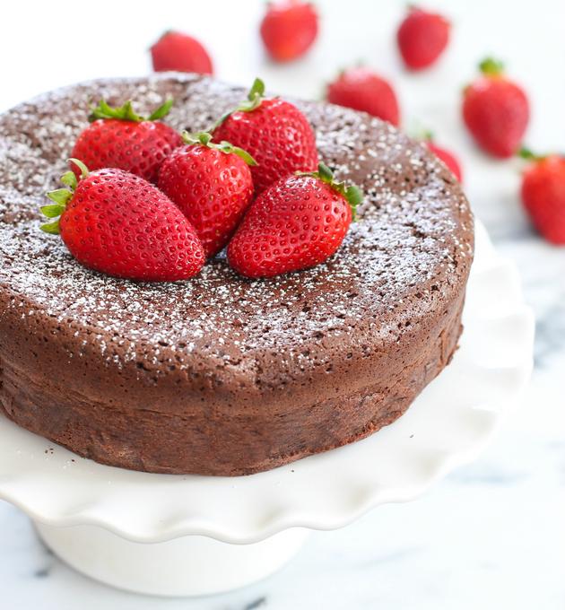 G teau au chocolat sans farine g teaux d lices - Gateau au chocolat sans farine ...