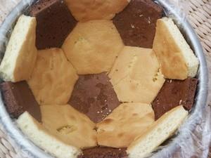 Gâteau d'anniversaire Ballon de Foot3