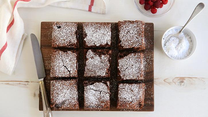 Gâteau magique au chocolat10