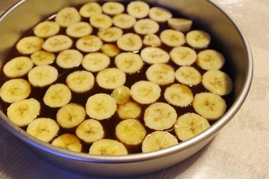 Gâteau renversé à la banane2
