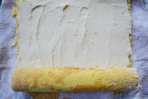 Gâteau roulé mascarpone citron5