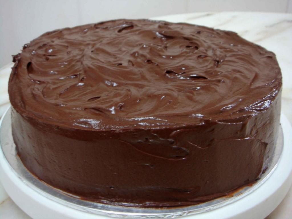 Génoise au chocolat2