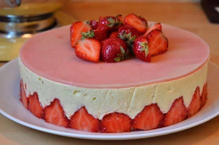 Gateau et fraisier