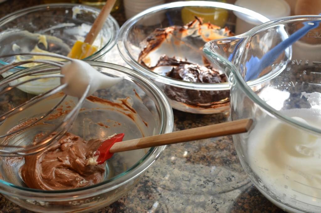 Mousse aux trois chocolats4