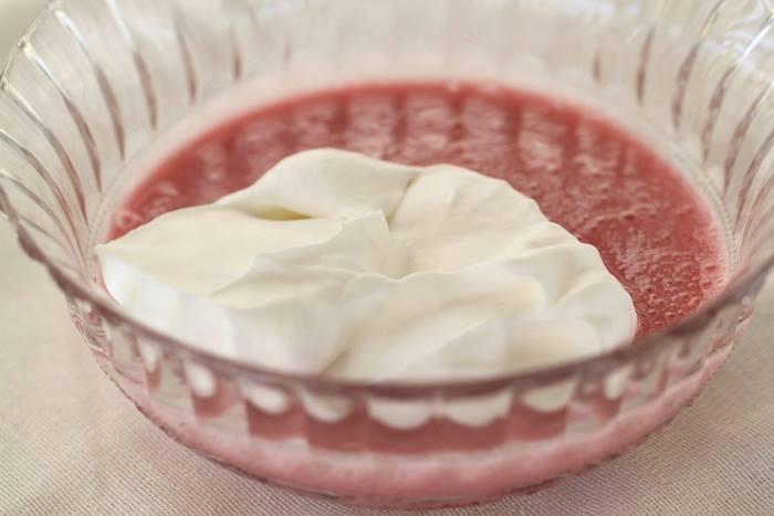 Mousse de fraises et guimauves3