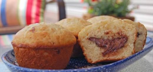 Muffins au coeur Nutella1