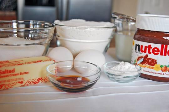 Muffins au coeur Nutella2