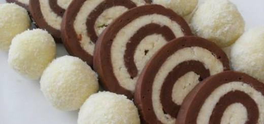 Roulade de biscuit à la noix ce coco1