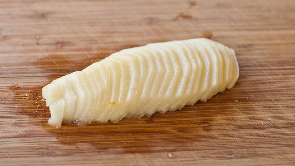 Tarte amandine aux poires (tarte Bourdaloue)3