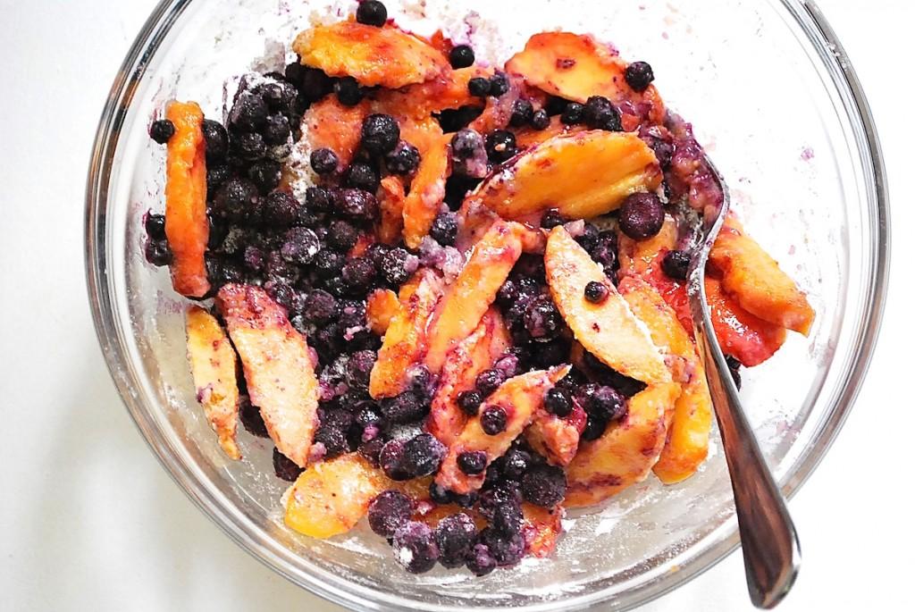 Tarte rustique aux fruits2