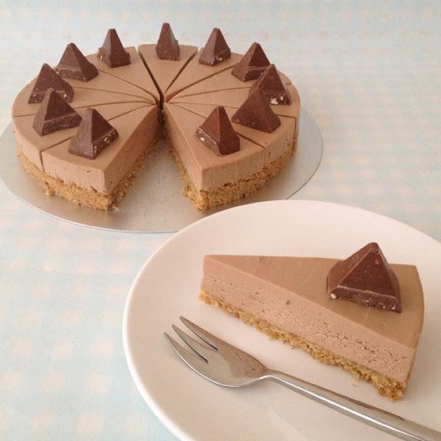 Toblerone cheesecake3