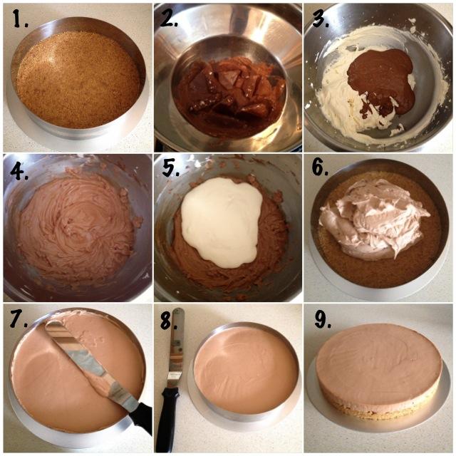 Toblerone cheesecake4