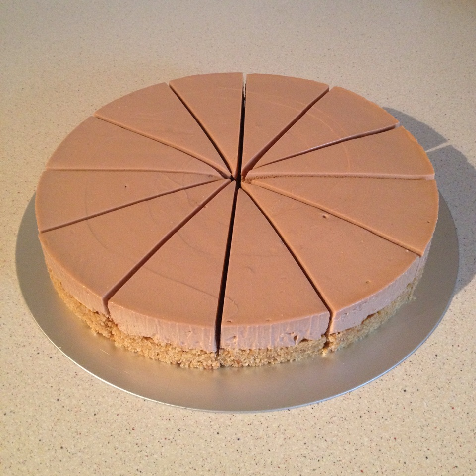 Toblerone cheesecake5