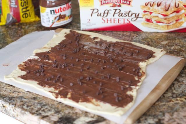 Torsades au nutella et pépites de chocolat2