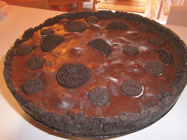 tarte chocolat oreo1