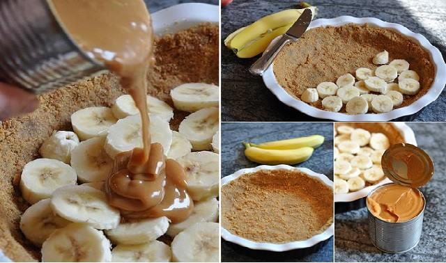 Banoffee pie - tarte banane caramel2