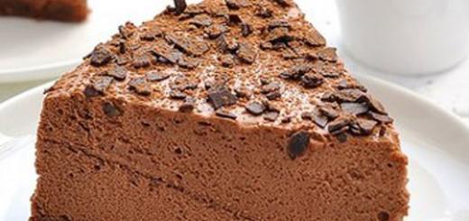 Bavarois au chocolat2