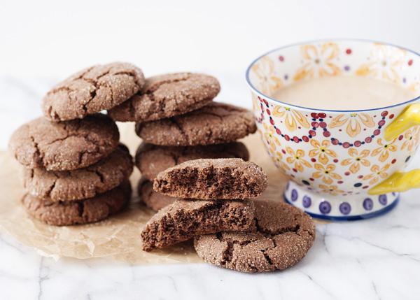 Biscuit au sucre au chocolat1