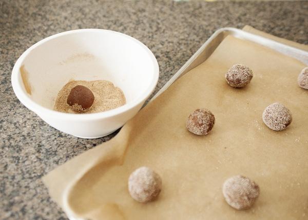 Biscuit au sucre au chocolat5